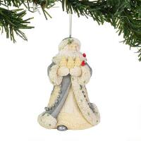 Bountiful Christmas Santa Orn - 6004112