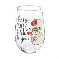 Queen Bitch Wine Glass - 6004523