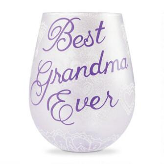 Stemless Best Grandma - 6006299
