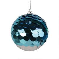 Sequinned Ball Orn - 6007282