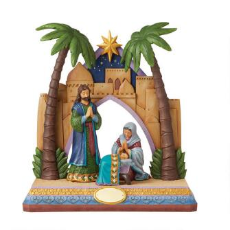 Holy Family/Stable 4 Pc CollEd - 6008924