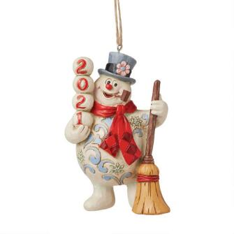 Frosty Dated 2021 Ornament - 6009109