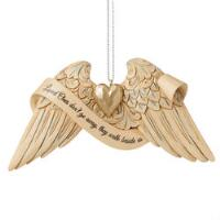 Bereavement Angel Wings Orn - 6009571
