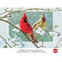 CARD PK/6 HAPPY BIRTHDAY - PP80417